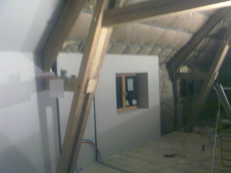 Transformation d'un séchoir à tabac en maison d'habitation 09022010