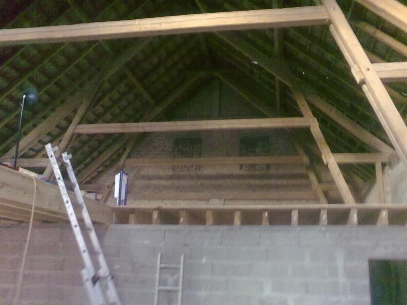Transformation d'un séchoir à tabac en maison d'habitation 15012011