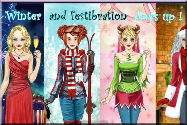 Winter and Festibration Dress Up Contest Winter10