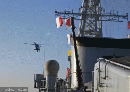 Une chasse au sous-marin sur la frégate Latouche-Tréville 1198210