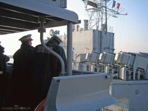 Une chasse au sous-marin sur la frégate Latouche-Tréville 1198310