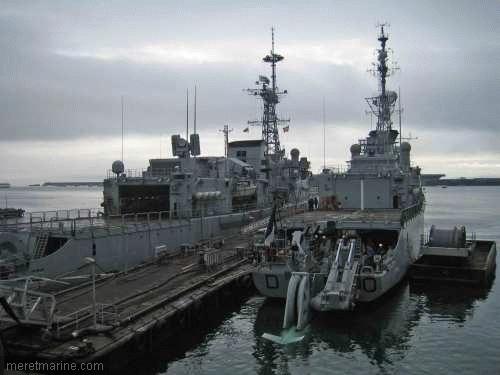 Une chasse au sous-marin sur la frégate Latouche-Tréville 1200510