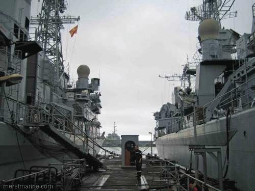 Une chasse au sous-marin sur la frégate Latouche-Tréville 1200710