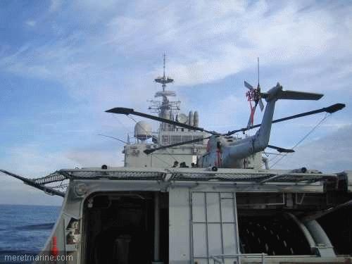 Une chasse au sous-marin sur la frégate Latouche-Tréville 1203910