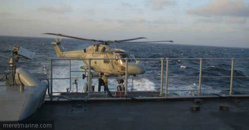 Une chasse au sous-marin sur la frégate Latouche-Tréville 1205510