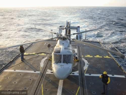 Une chasse au sous-marin sur la frégate Latouche-Tréville 1205910