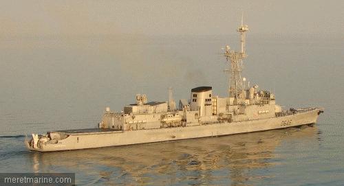 Une chasse au sous-marin sur la frégate Latouche-Tréville 1215310