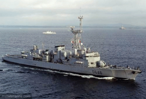 Une chasse au sous-marin sur la frégate Latouche-Tréville 222310
