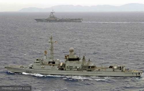Une chasse au sous-marin sur la frégate Latouche-Tréville 293810
