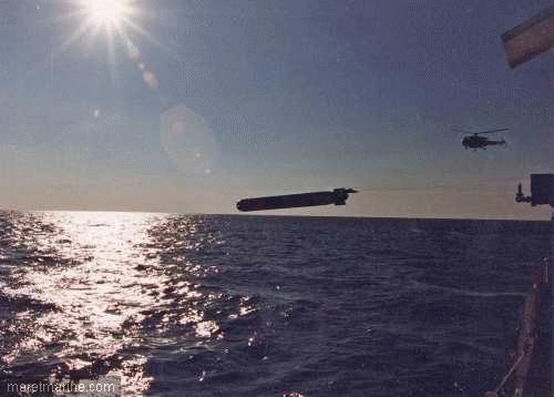 Une chasse au sous-marin sur la frégate Latouche-Tréville 584310