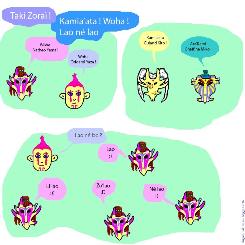 Dessins pour apprendre le Taki Zoraï, par Origami Album_10