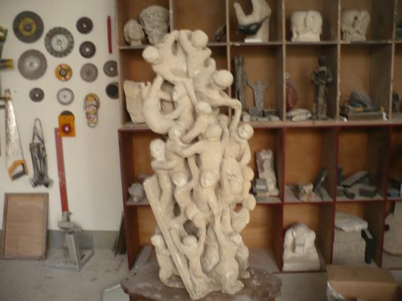 Ce chaos n'aurait pas dû être sculpté. P1000214