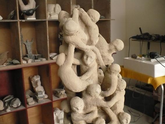 Ce chaos n'aurait pas dû être sculpté. P1000216