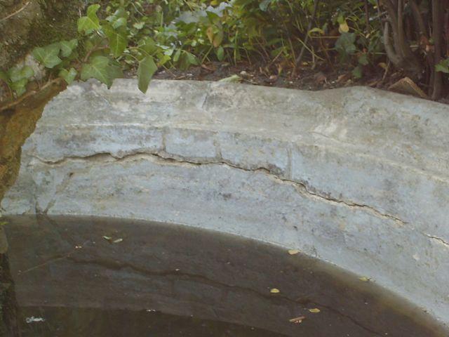 La réparation du bassin - suite 611