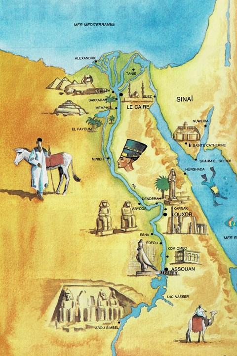 L'Egypte Carte_11