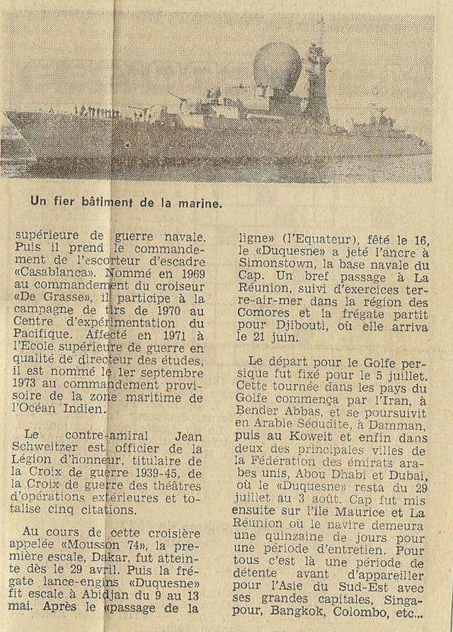 DUQUESNE (FRÉGATE) - Page 4 Numeri17