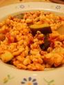 Blé aux légumes et lardons Dsc05510
