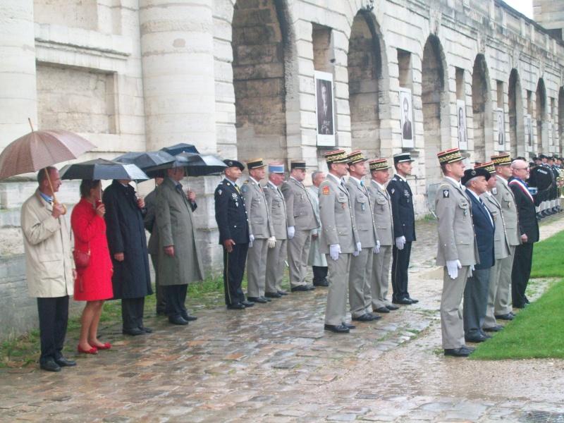 Cérémonie Chasseurs à Vincennes le 14 sept 2013 100_4210