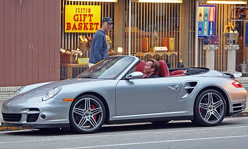Porsche et personnalités Arnold10