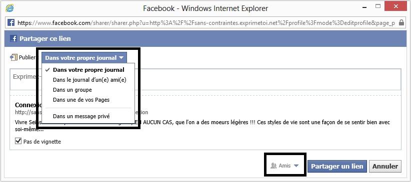 Le forum et Facebook Fb210