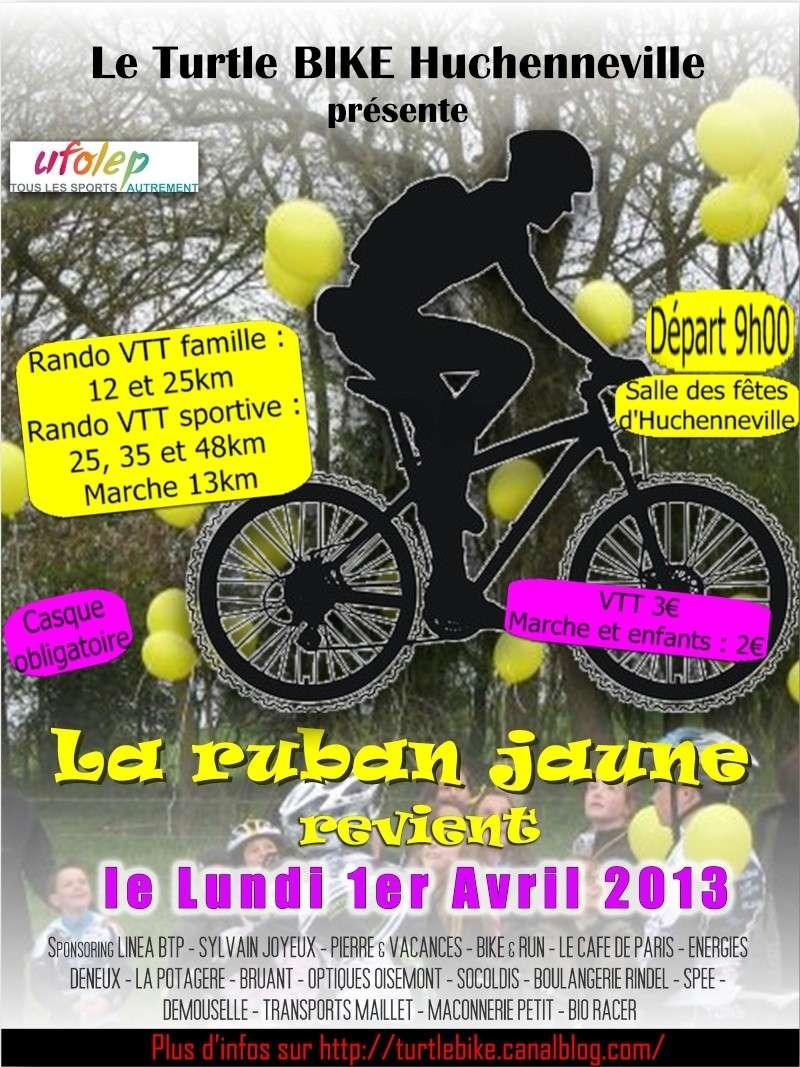 [80] RANDOS DU TURTLE BIKE (VTT & MARCHE) - LUNDI 01/04/2013 Affich10