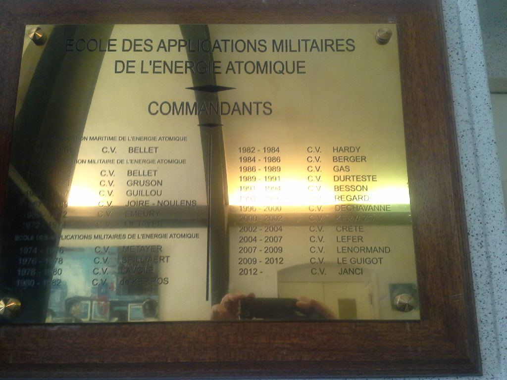 Ecole d'Application Militaire de l'Energie Atomique (E.A.M.E.A) 910
