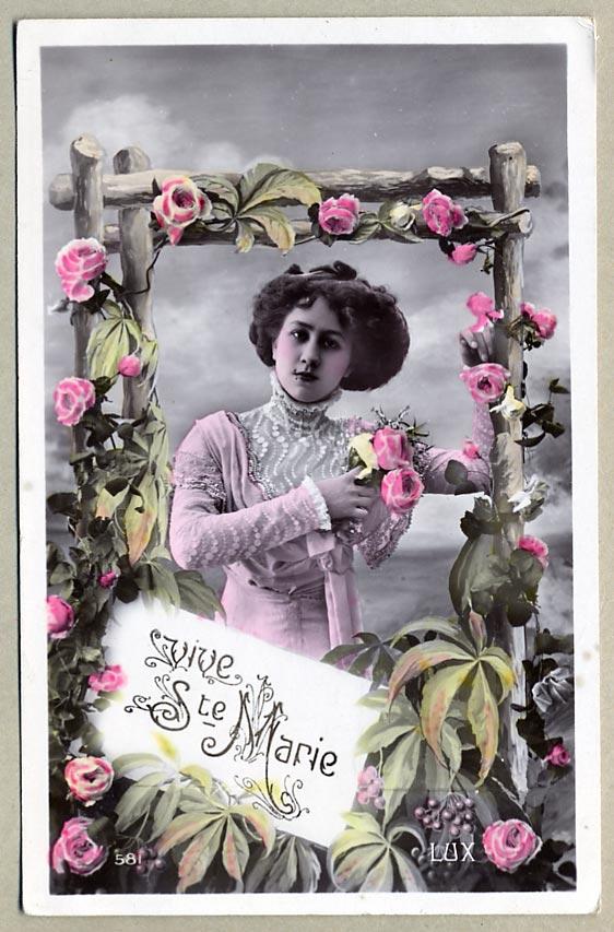 Premières cartes de Saints et Saintes  Fêtes patronales Cp_de_10
