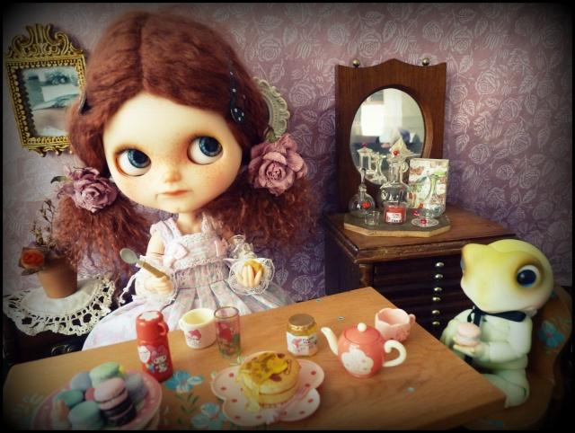 Saraphine, ma première Blythe ! Custo Taradolls & me ^^ P1050812