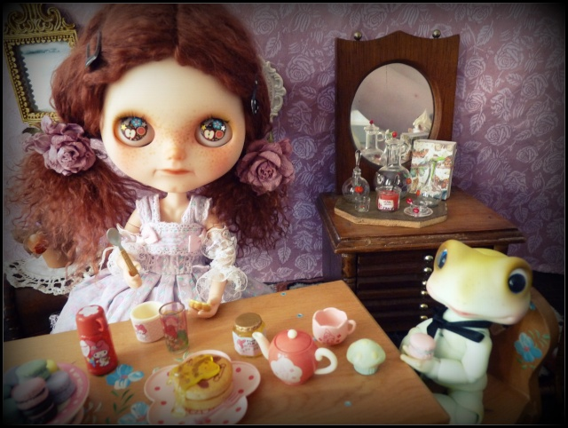 Saraphine, ma première Blythe ! Custo Taradolls & me ^^ P1050817