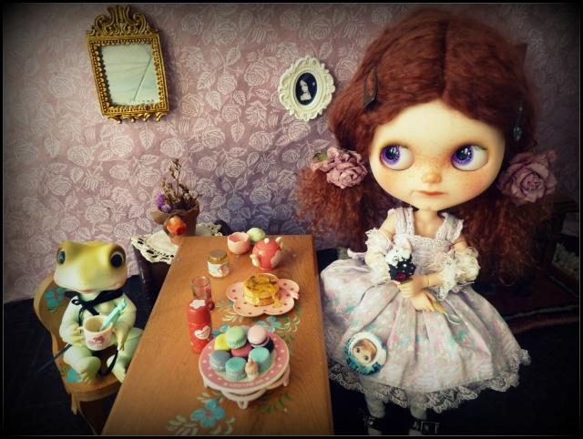 Saraphine, ma première Blythe ! Custo Taradolls & me ^^ P1050822