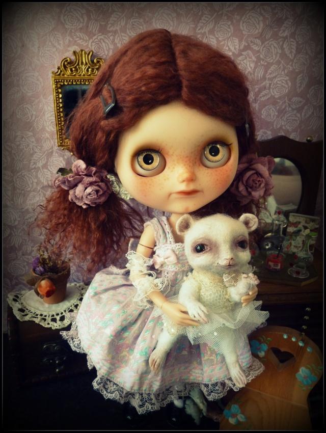 Saraphine, ma première Blythe ! Custo Taradolls & me ^^ P1050824