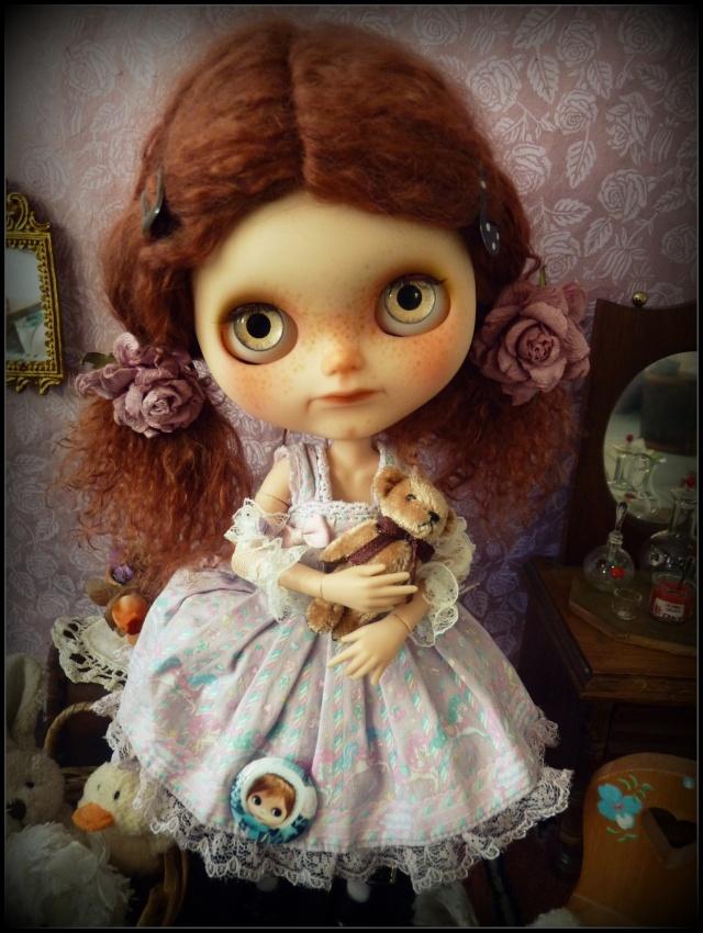 Saraphine, ma première Blythe ! Custo Taradolls & me ^^ P1050826