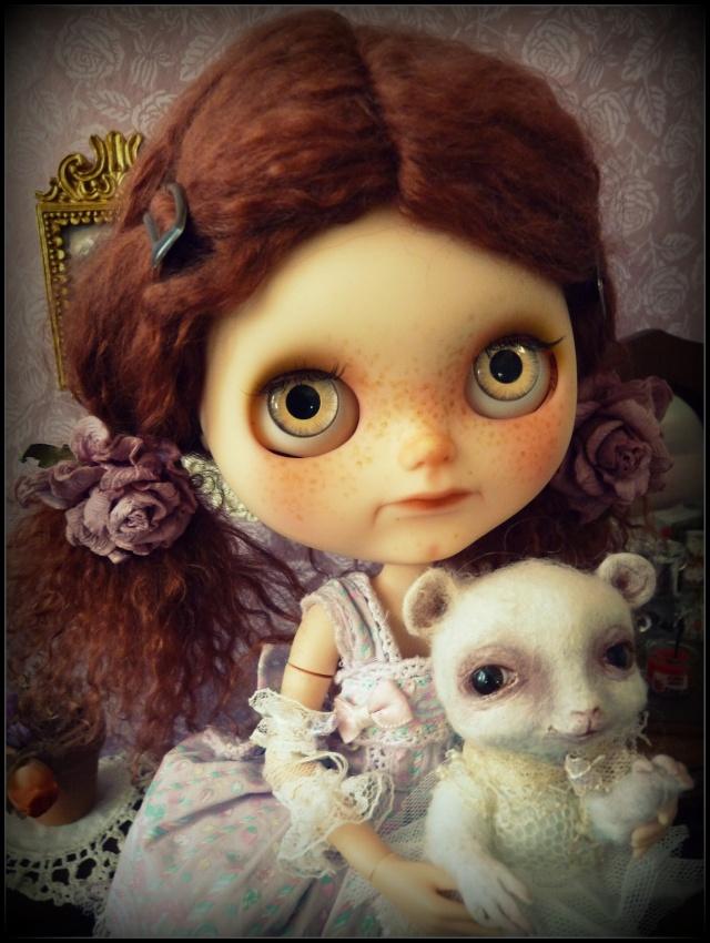 Saraphine, ma première Blythe ! Custo Taradolls & me ^^ P1050827