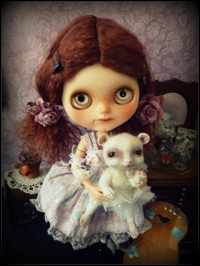 Saraphine, ma première Blythe ! Custo Taradolls & me ^^ P1050831
