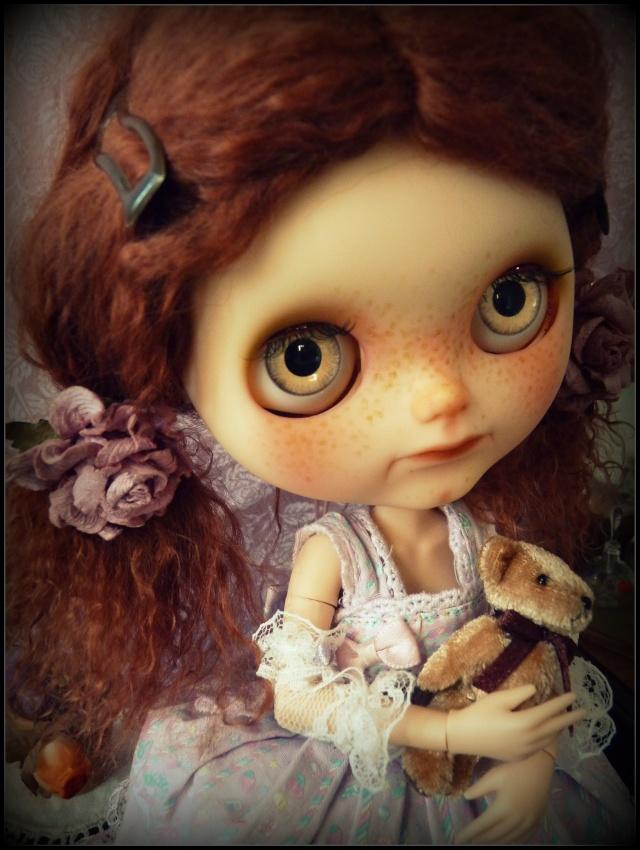 Saraphine, ma première Blythe ! Custo Taradolls & me ^^ P1050833