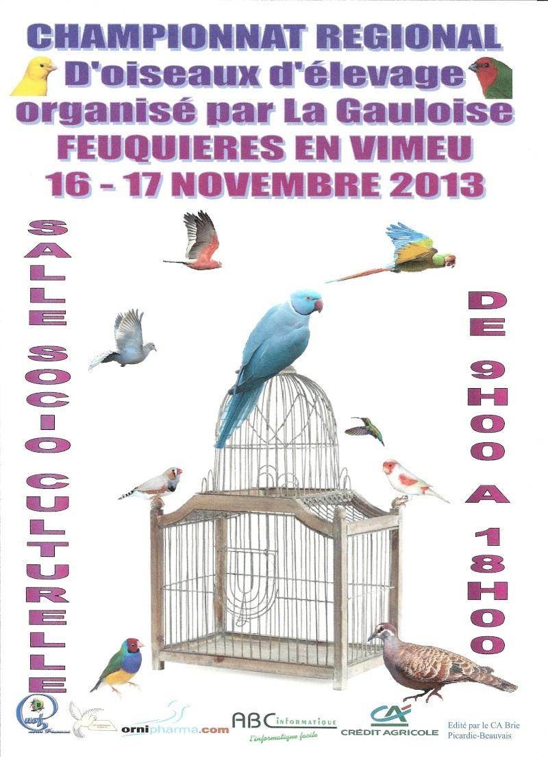 Régional UOF 2013 à Feuquières en Vimeu (80). Affich11