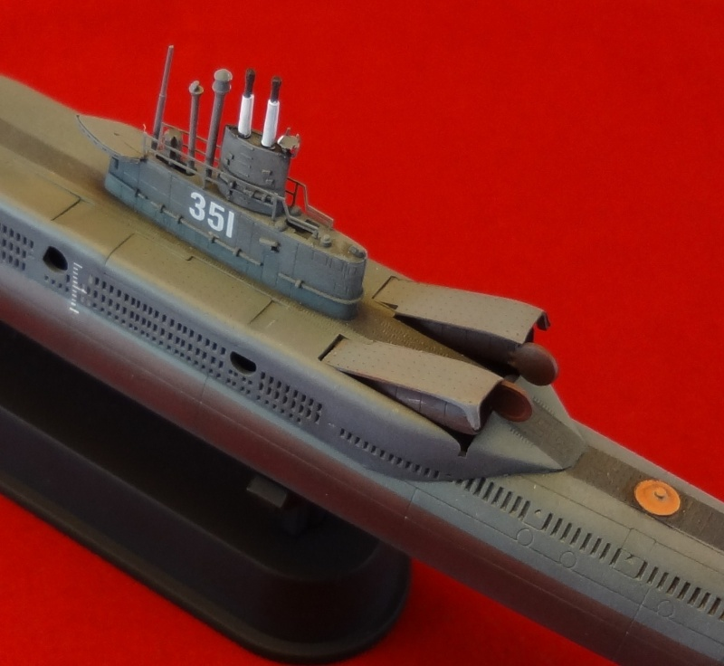 [Hobbyboss 1/350] Wuhan class submarine type 033G - Page 2 Wuhan_52