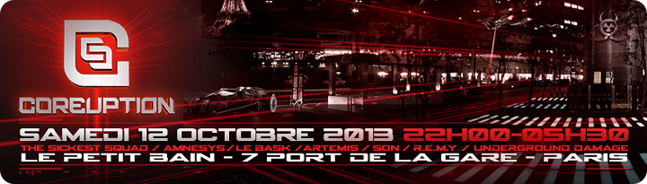 [ COREUPTION - 12 Octobre 2013 - Le Petit Bain - Paris - FR ] - Page 2 Banner10