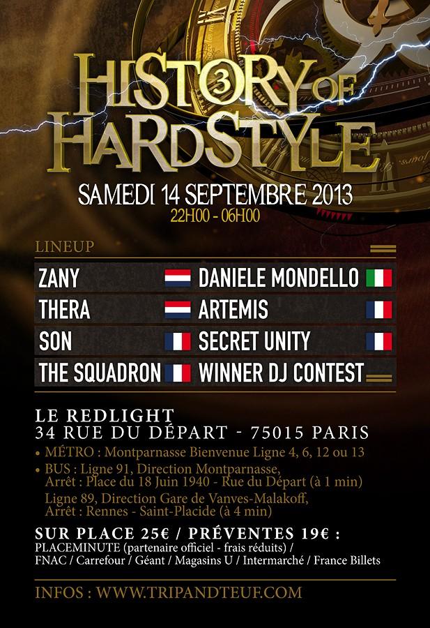 [ HISTORY OF HARDSTYLE - Samedi 14 Septembre 2013 - Le Redlight - Paris - FR ] - Page 2 Histor11