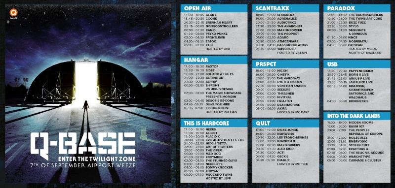 [ Q-BASE - Enter the twilight zone - 7 Septembre 2013 - Weeze Airport - DE ] Timeta11
