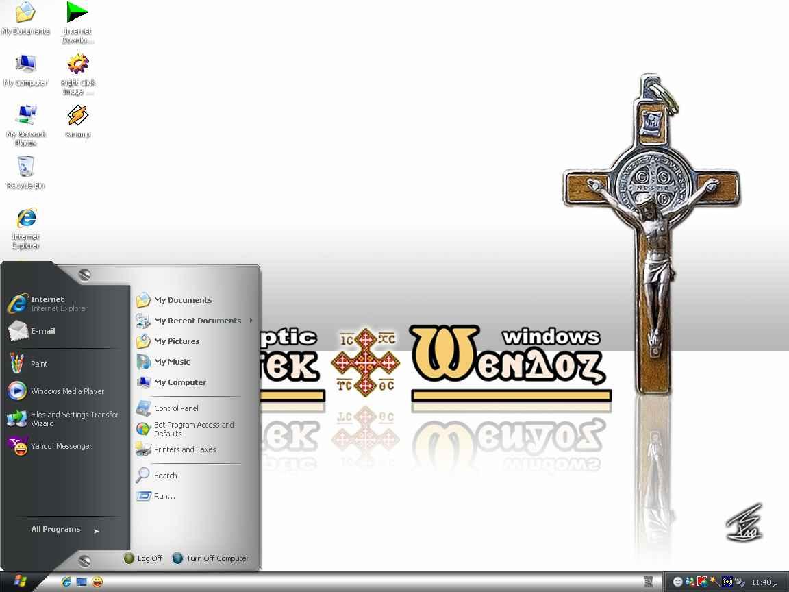 وأخيراً.. نسخة الويندوز المسيحية القبطية Coptic Windows Untitl18