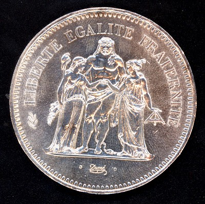 Francia, 50 francos, 1977. (para Ced) Franci10