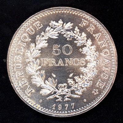 Francia, 50 francos, 1977. (para Ced) Franci11