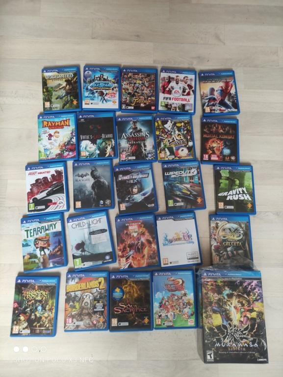 Lot jeux ps vita + ps vita jap ffx neuve  Img_2023