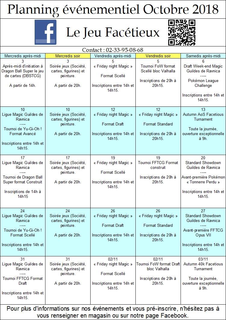 Planning boutique des mois de Septembre et d'Octobre Planni10