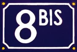 Le nombre de votre domicile 8bis10