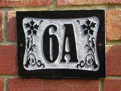 Le nombre de votre domicile An6x4g10