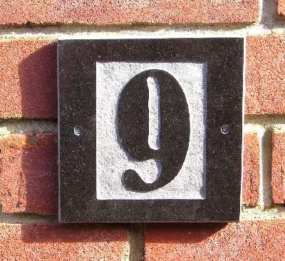 Le nombre de votre domicile G6x6st10