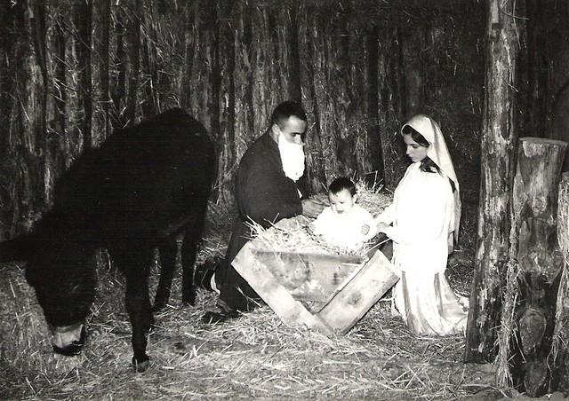 crèches de noël en 1969 Concou10