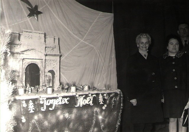 crèches de noël en 1969 Concou14